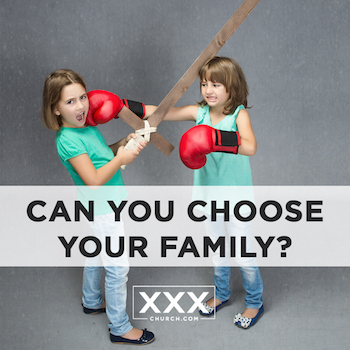 Can you choose your family - blog