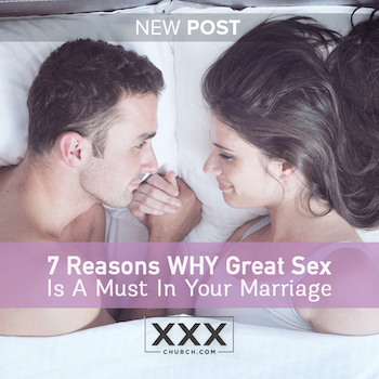 Why sex is good for your marriage