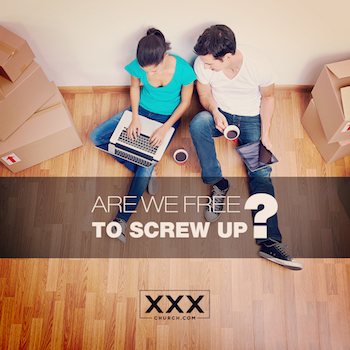 ARE WE FREE TO SCREW UP-blog